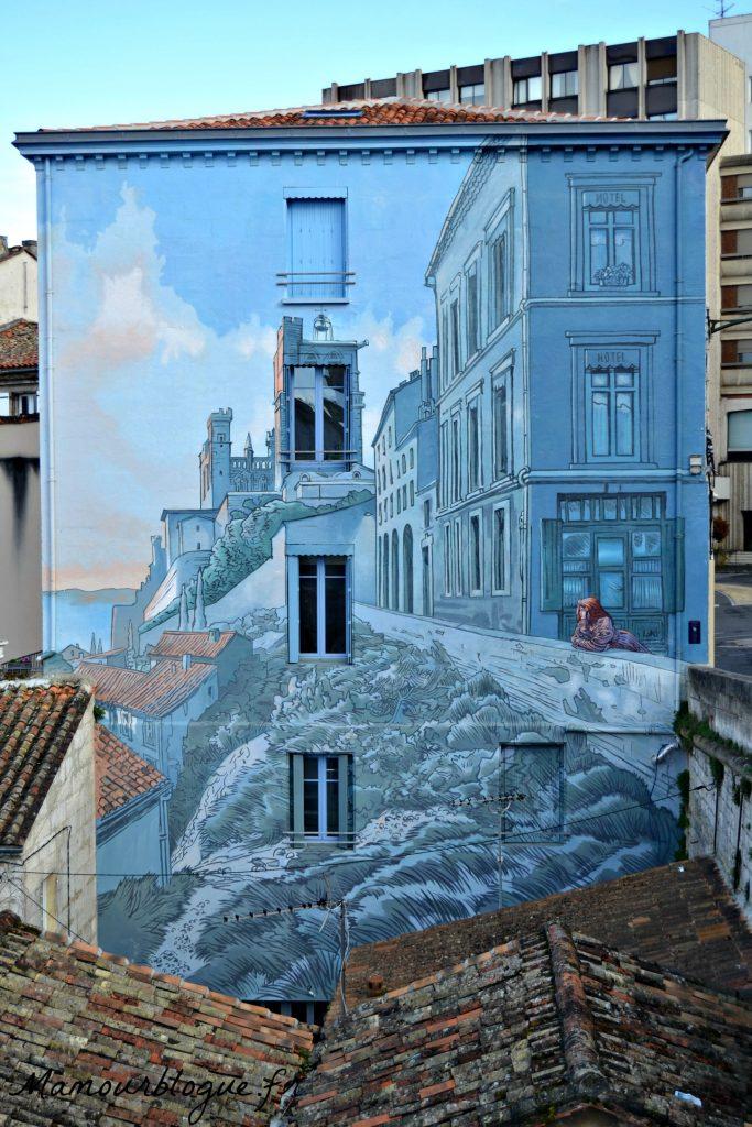 angouleme mur peint
