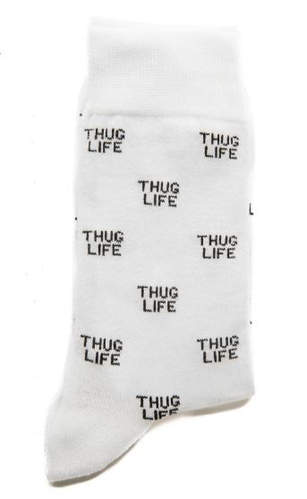 chaussettes thuglife grafitee